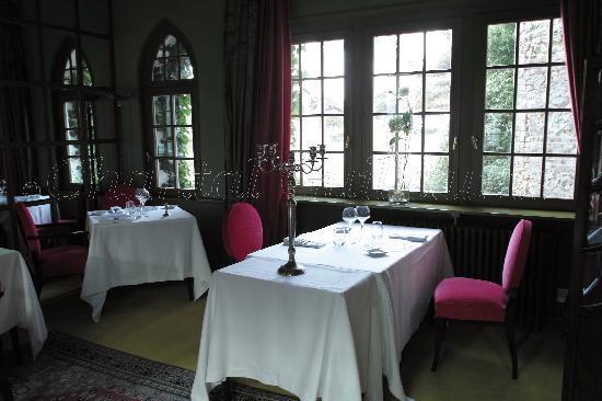 Le Donjon - Domaine Saint Clair: Breakfast room