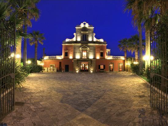 Hotel Villa Rosa Antico: Fronte Hotel