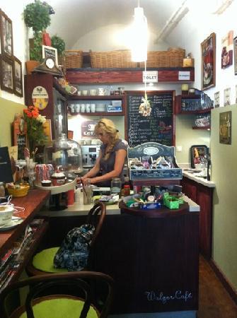 Walzer Café: the Cafe inside
