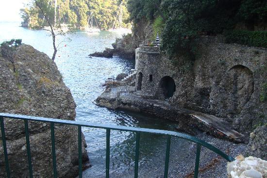 Hotel Piccolo Portofino: Private beach