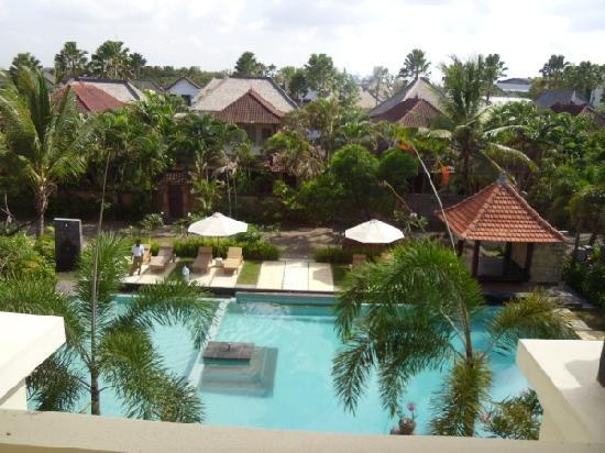 Kusuma Resort: from balcony