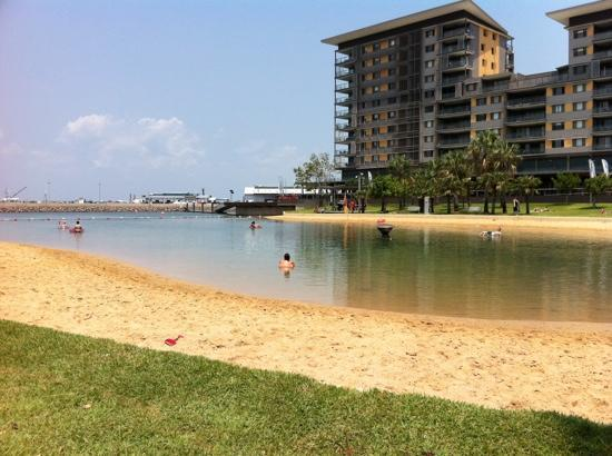 Darwin Wharf Precinct: Lagoon