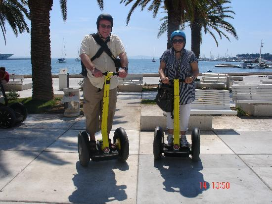 Segway Tour Split: renaldo and maria