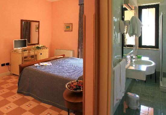 Hotel Villa Rosa Antico: Camera e servizi