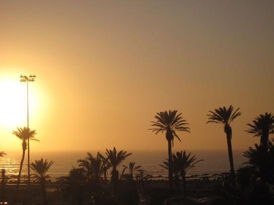 Sofitel Agadir Royal Bay Resort: Vue de la chambre du 2ème étage .