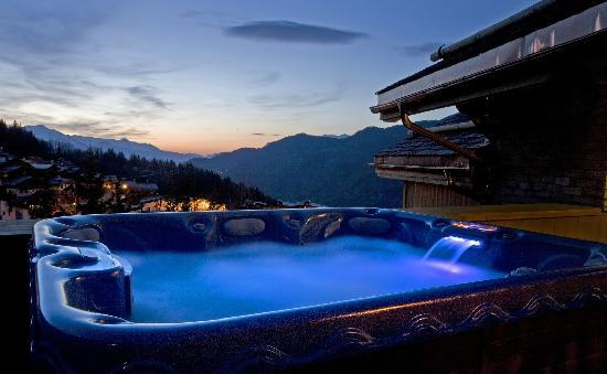Alpine Escape: Relax after a hard days skiing...