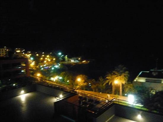 Enotel Lido Madeira: Night view from Room  Terrace