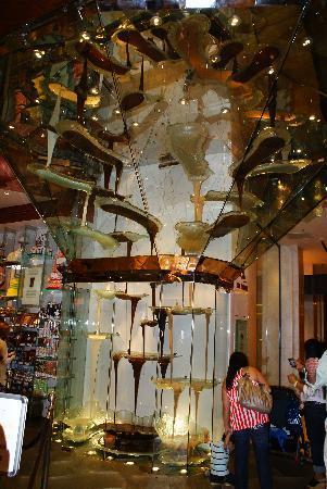 น้ำพุเบลลาจิโอ: The chocolate fountain