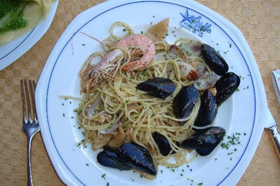 Ristorante Stella: Seafood Spaghetti