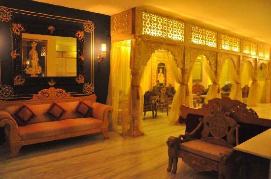 Hotel Ram Vilas: Waiting Area