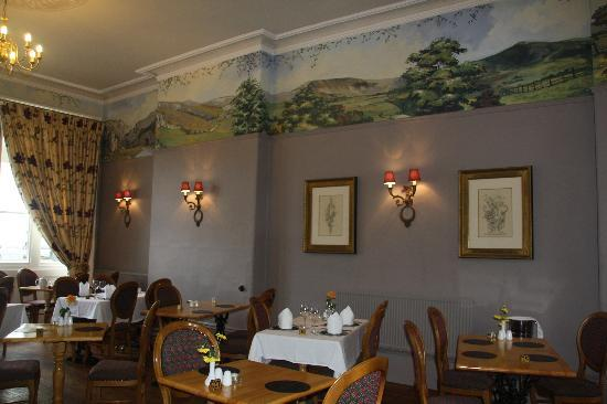 Charles Cotton Hotel: The breakfast room