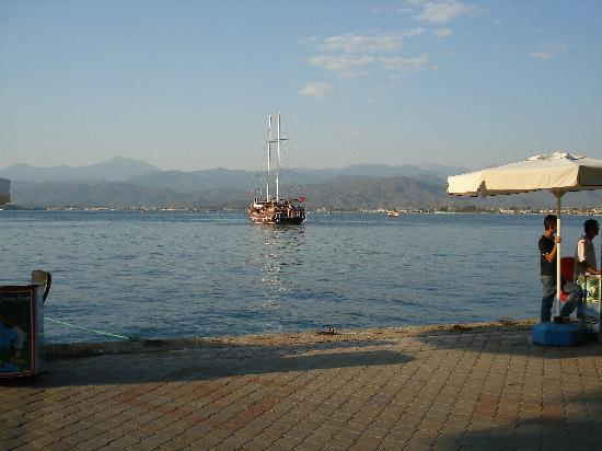 Hisaronu, ตุรกี: fethiye harbour