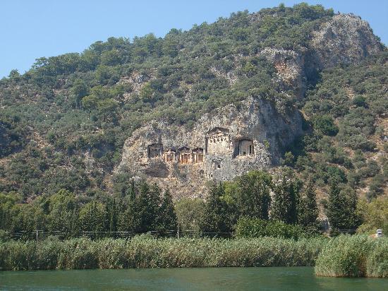 Hisaronu, ตุรกี: Lycian rock tomb