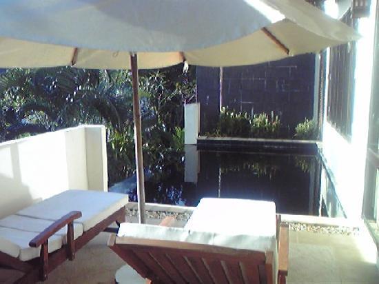 Absolute Chandara Resort & Spa: 各部屋にあるプライベートプール。