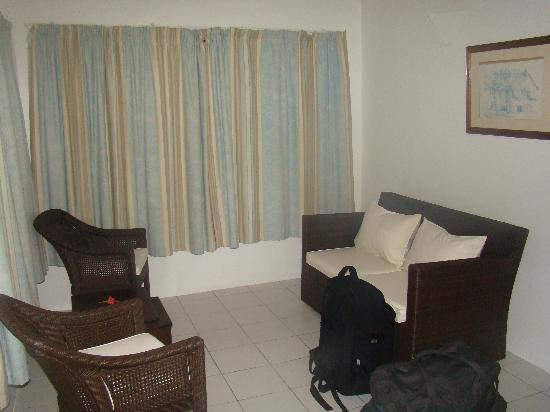 Chalets d'Anse Forbans: Living room
