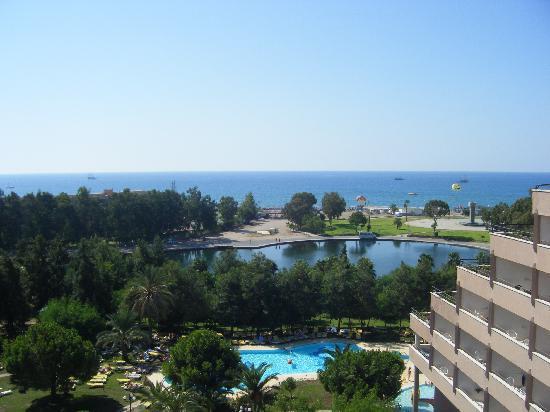 Grand Prestige Hotel & Spa : View from balcony