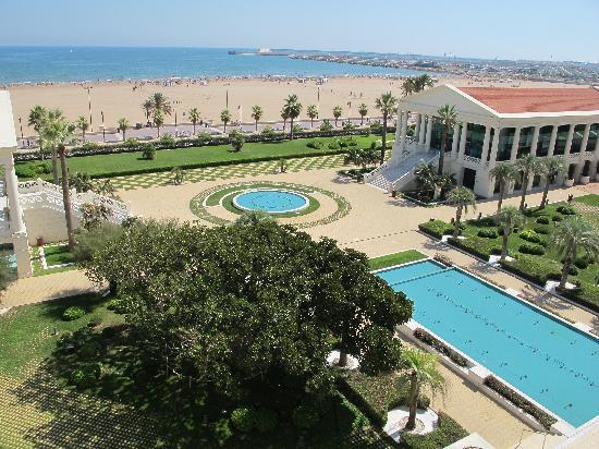 Hotel Las Arenas Balneario Resort: vue de la chambre