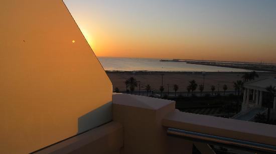 Hotel Las Arenas Balneario Resort: vue chambre le matin