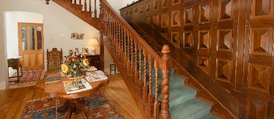 Langley Wood House: The Hallway