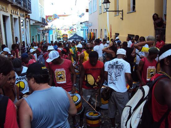 Olodum: ensayo carnaval 2011