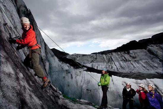 Arctic Adventures: Iceclimbing