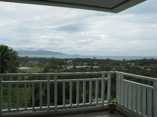 grand hill residence blick vom balkon - Tv Wand