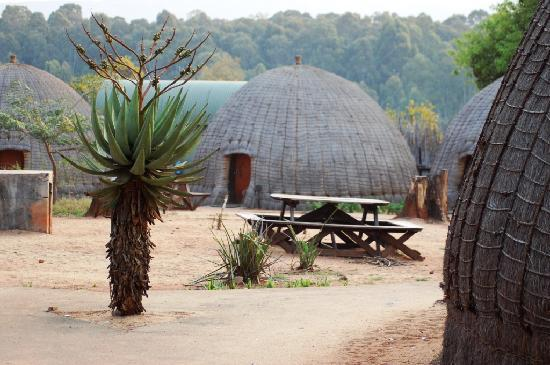 Mlilwane Wildlife Sanctuary: Traditional Swazi Beehive huts is a must stay