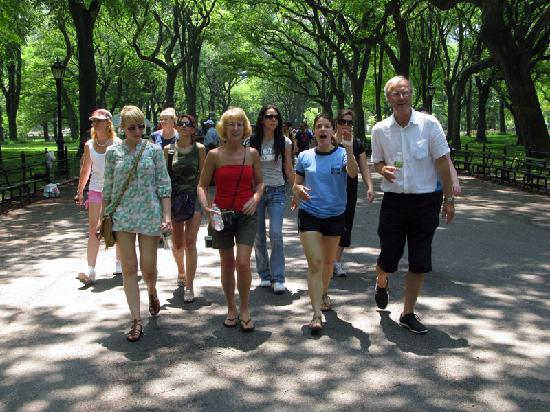 On Location Tours: Stroll through Central Park