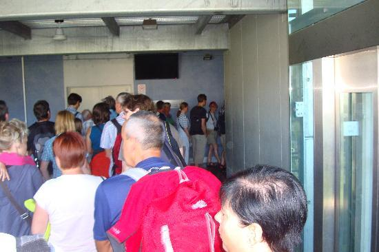 Monte Baldo: Early time but long queue too