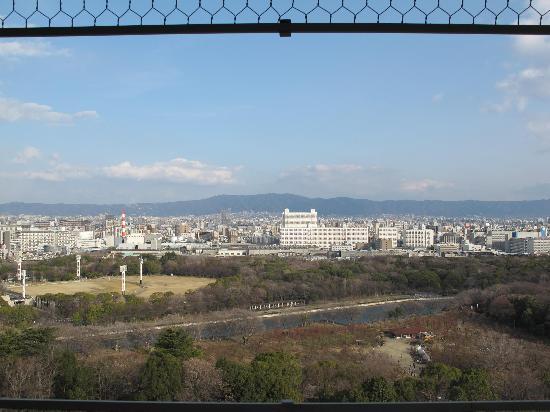 ปราสาทโอซาก้า: City View from the top