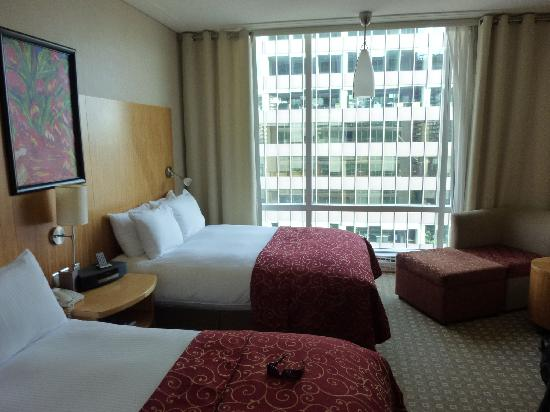 Sofitel Montreal Golden Mile: chambre 2 lits double