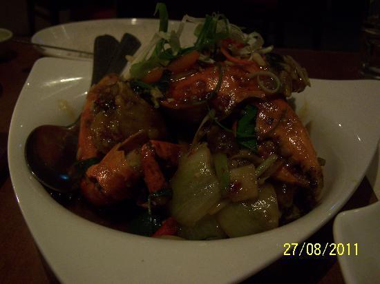 Spice Restaurant & Bar: Chili crab