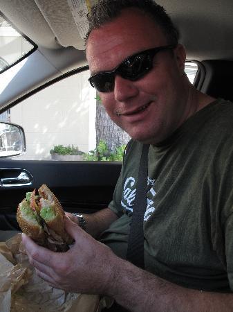 Ike's Love & Sandwiches: Half of the sandwich!!