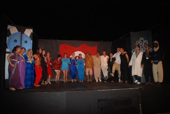 Safira Palms Hotel & Spa: show du soir