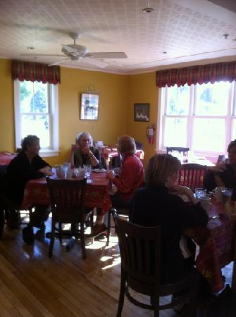 Martha's Leelanau Table: Dining room at Martha's