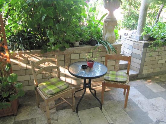 Villa Klaic: Our patio