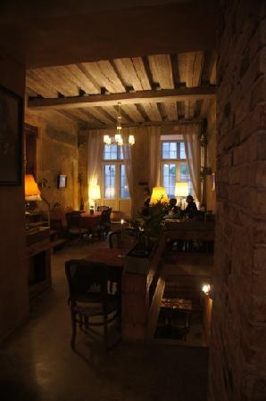 Von Krahli Aed: in the restaurant