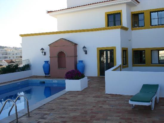 Loule Jardim Hotel: Hotel swimming pool