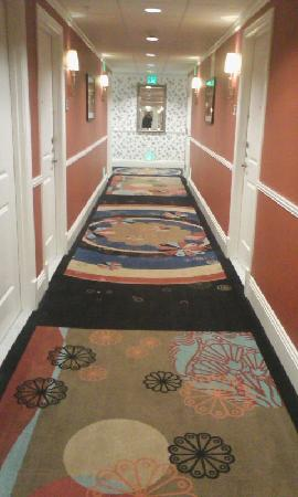 Hotel Shattuck Plaza: ホテルの廊下