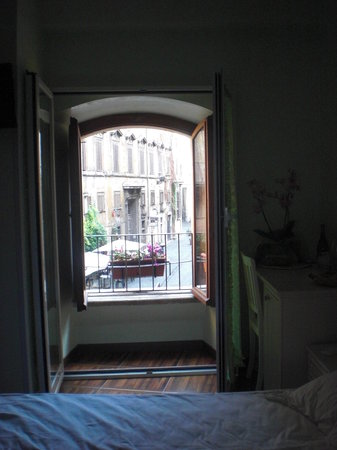 Locanda Navona: view from our room