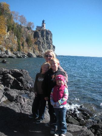 Split Rock Lighthouse: great place for a family photo!!