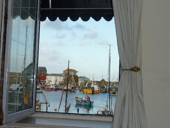 The Wheelhouse: The view from your bed!