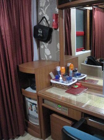 เอลิเซ่ โมเต็ล ปูซาน: the vanity area