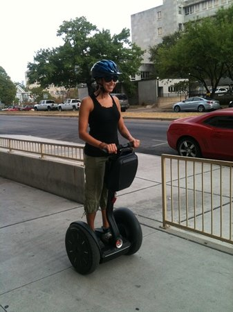 Segway Nation: learning to ride