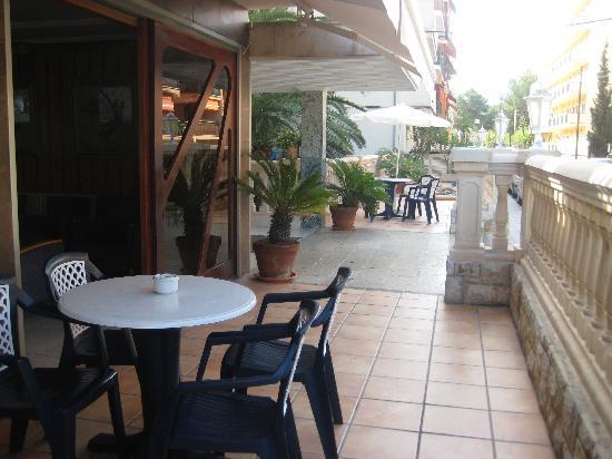 Hotel Palma Mazas: TERRACE 1