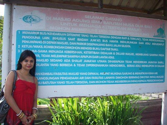 วัดอูลูวาตู: Dev Shona Batutah Masjid 1