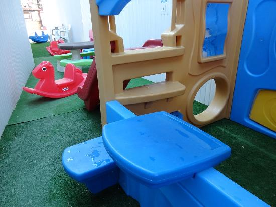 New Aegli Resort Hotel: kid's area