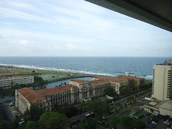 Hilton Colombo : View from the room or lounge