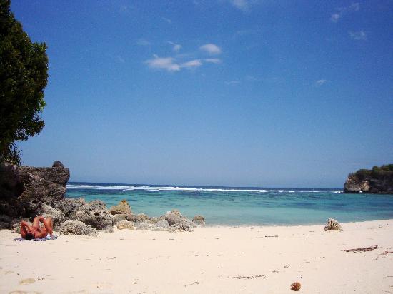 Sumba Nautil Resort: Plage deserte !