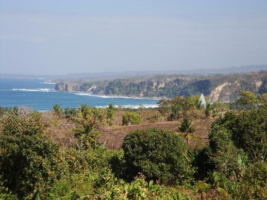 Sumba Nautil Resort: Vue de l'hôtel